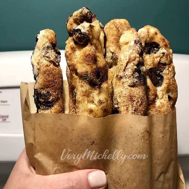 Blueberry Banana French Toast Sticks