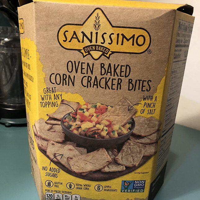 Sanissimo Oven Baked Corn Crackers