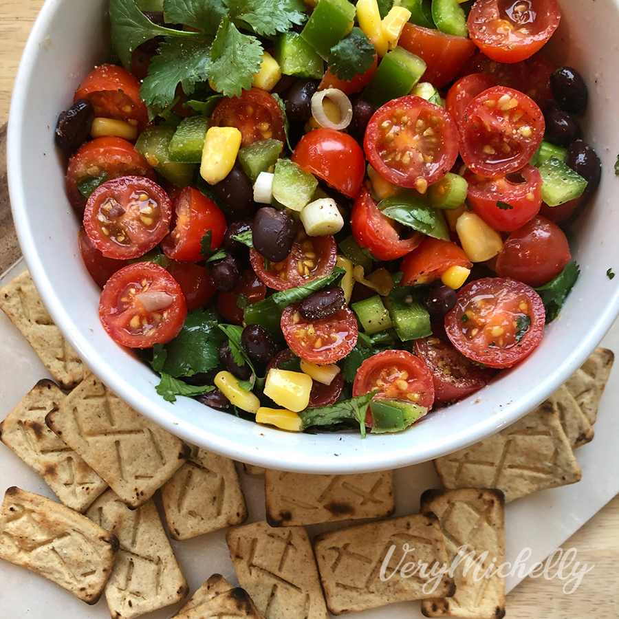 Black Bean & Tomato Salad