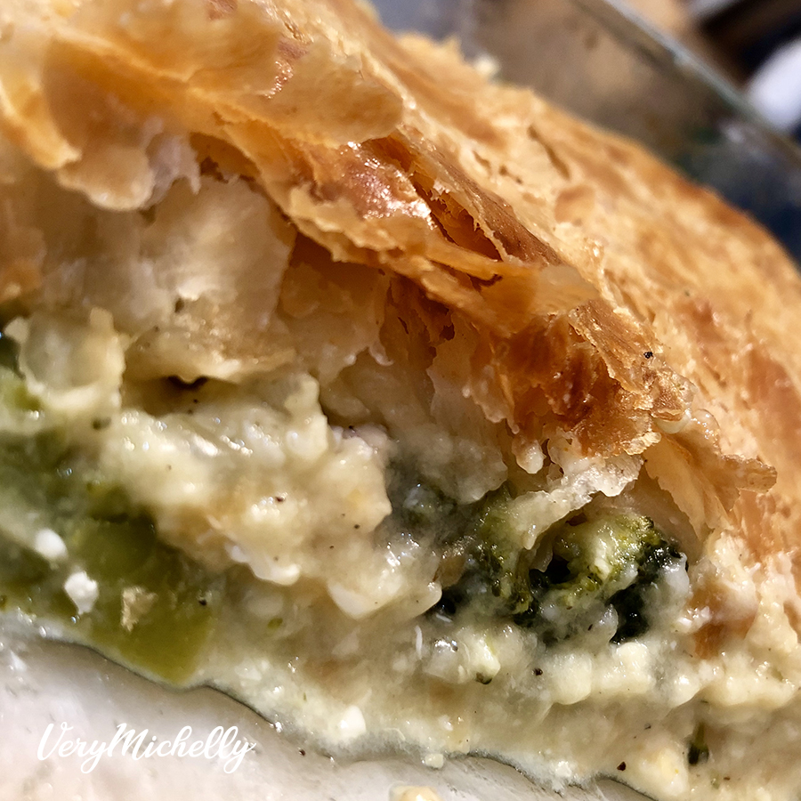 Puff Pastry Chicken Bake