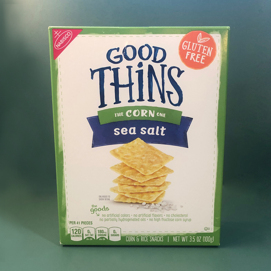 Good Thins Corn Crackers