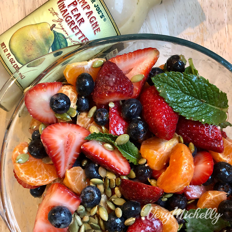 Summer Fruit Salad with Pepitas